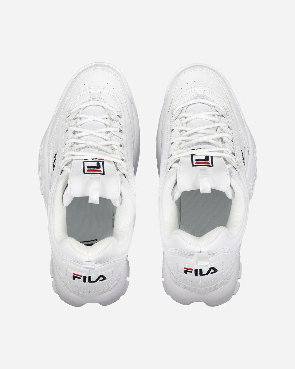 Scarpe sneakers FILA DISRUPTOR LOW GS JR S4081690 scatto 3