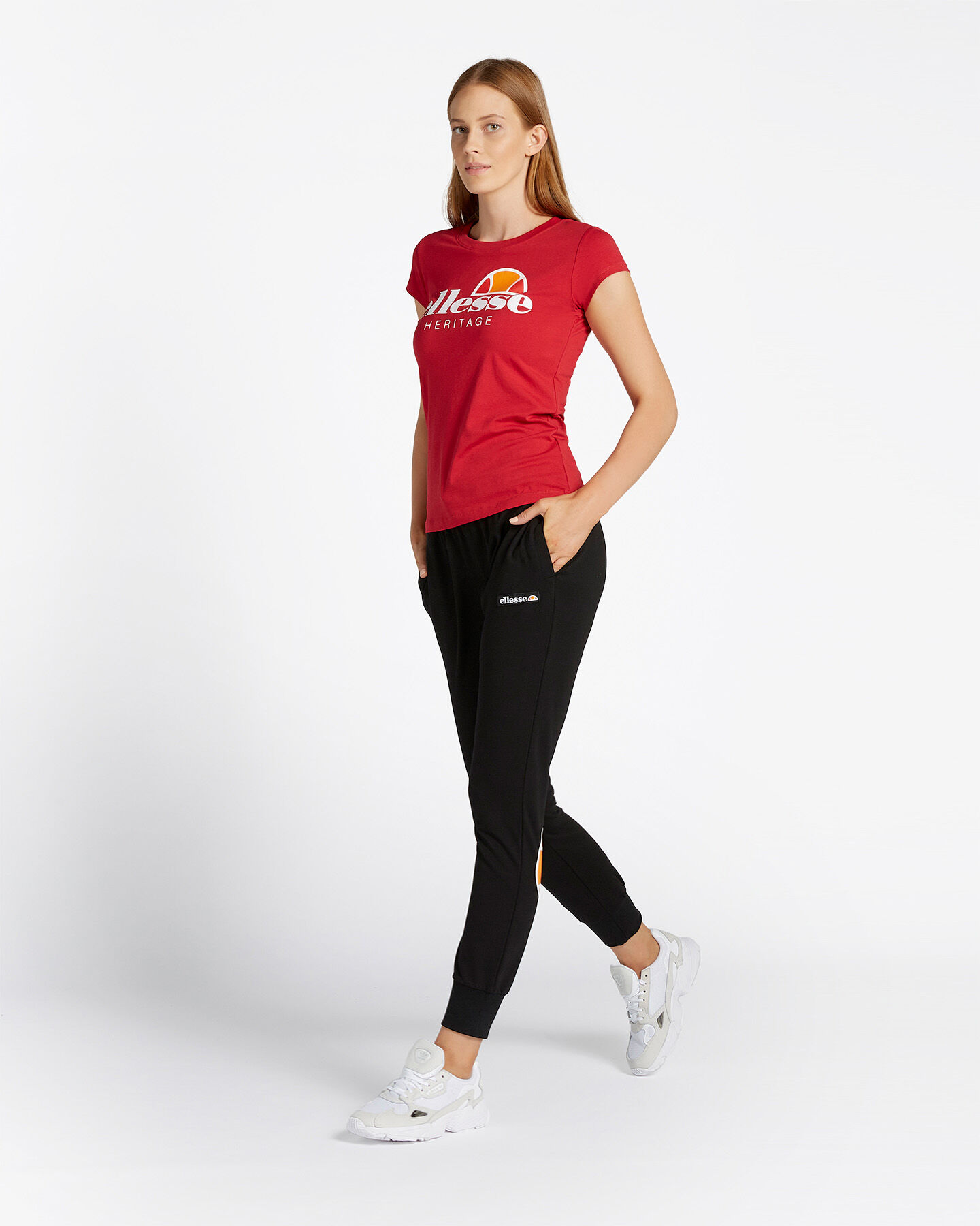 T-Shirt ELLESSE LOGO W S5090582 scatto 3