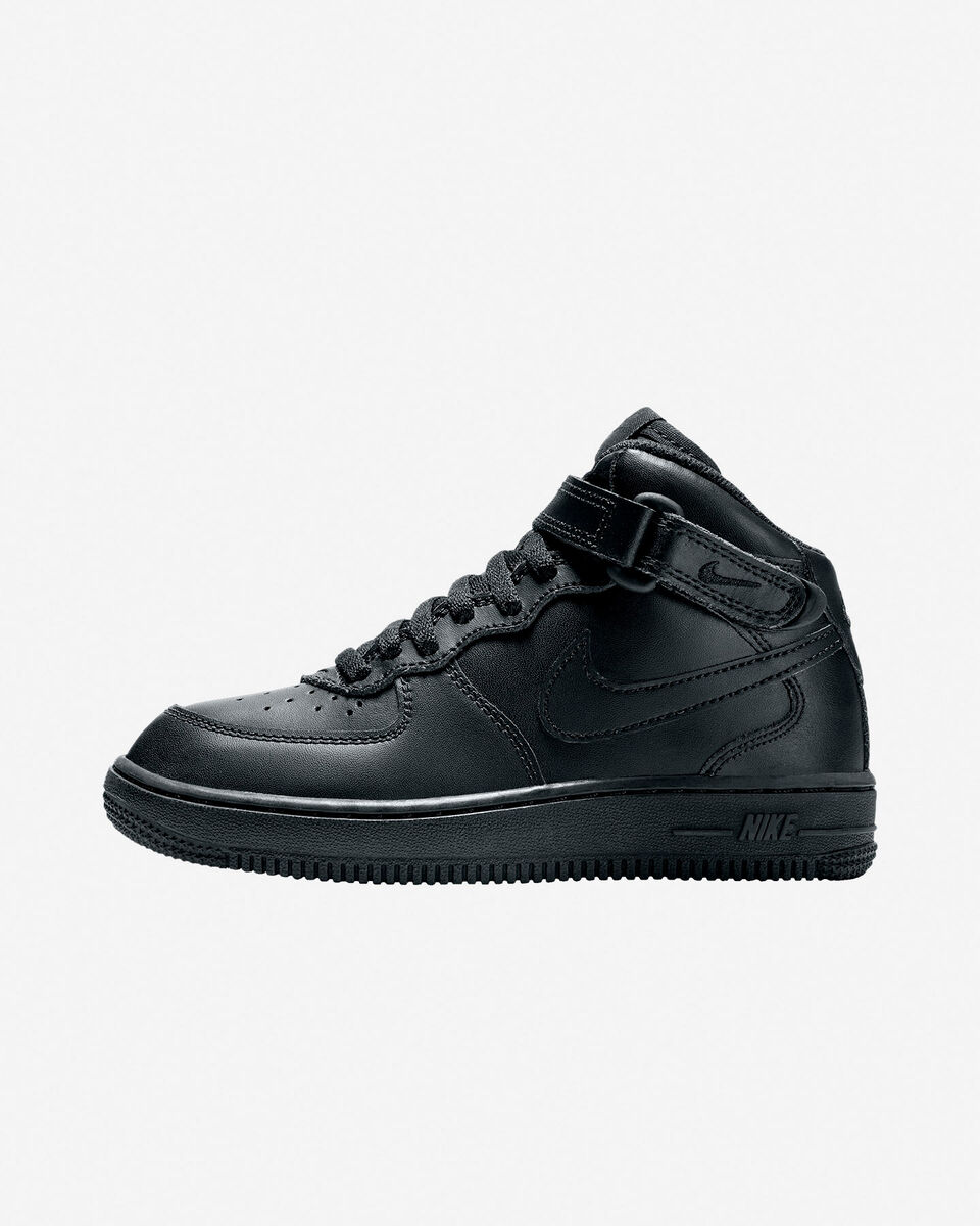 Scarpe sportive NIKE AIR FORCE 1 MID JR PS S4019304 scatto 3