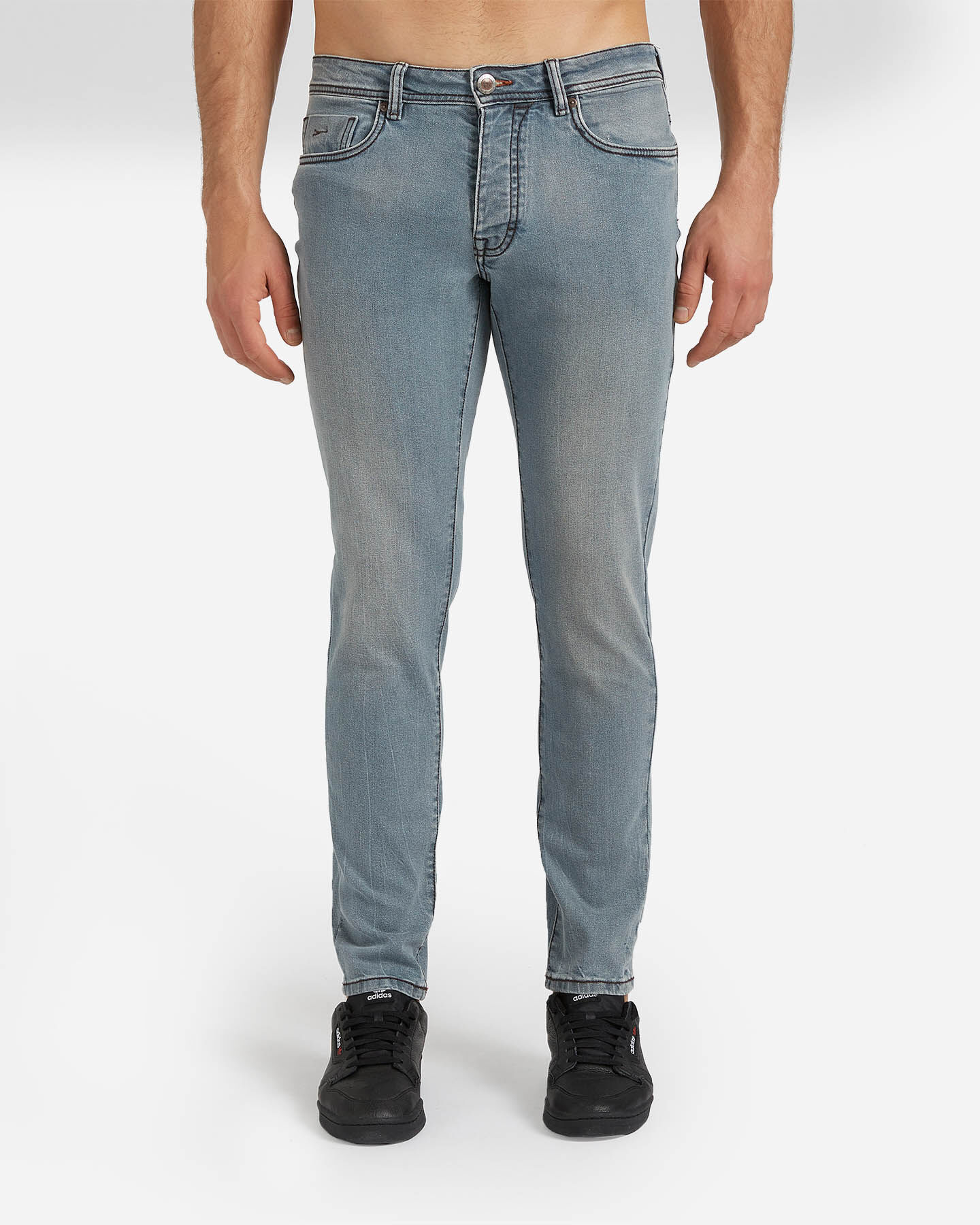 Jeans COTTON BELT 5TS SLIM M S4076651 scatto 0