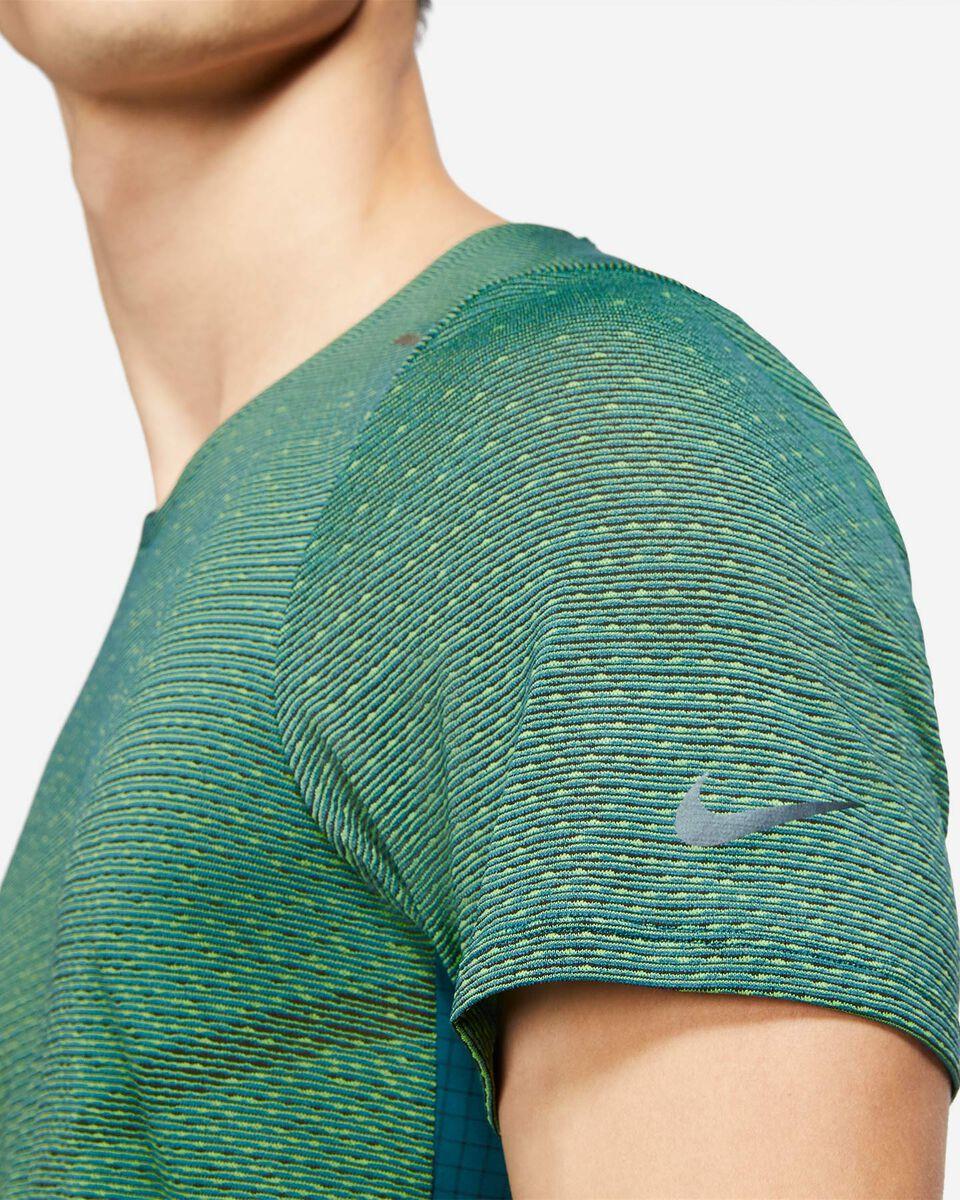 T-Shirt running NIKE RUN DIVISION PINNACLE M S5269962 scatto 2