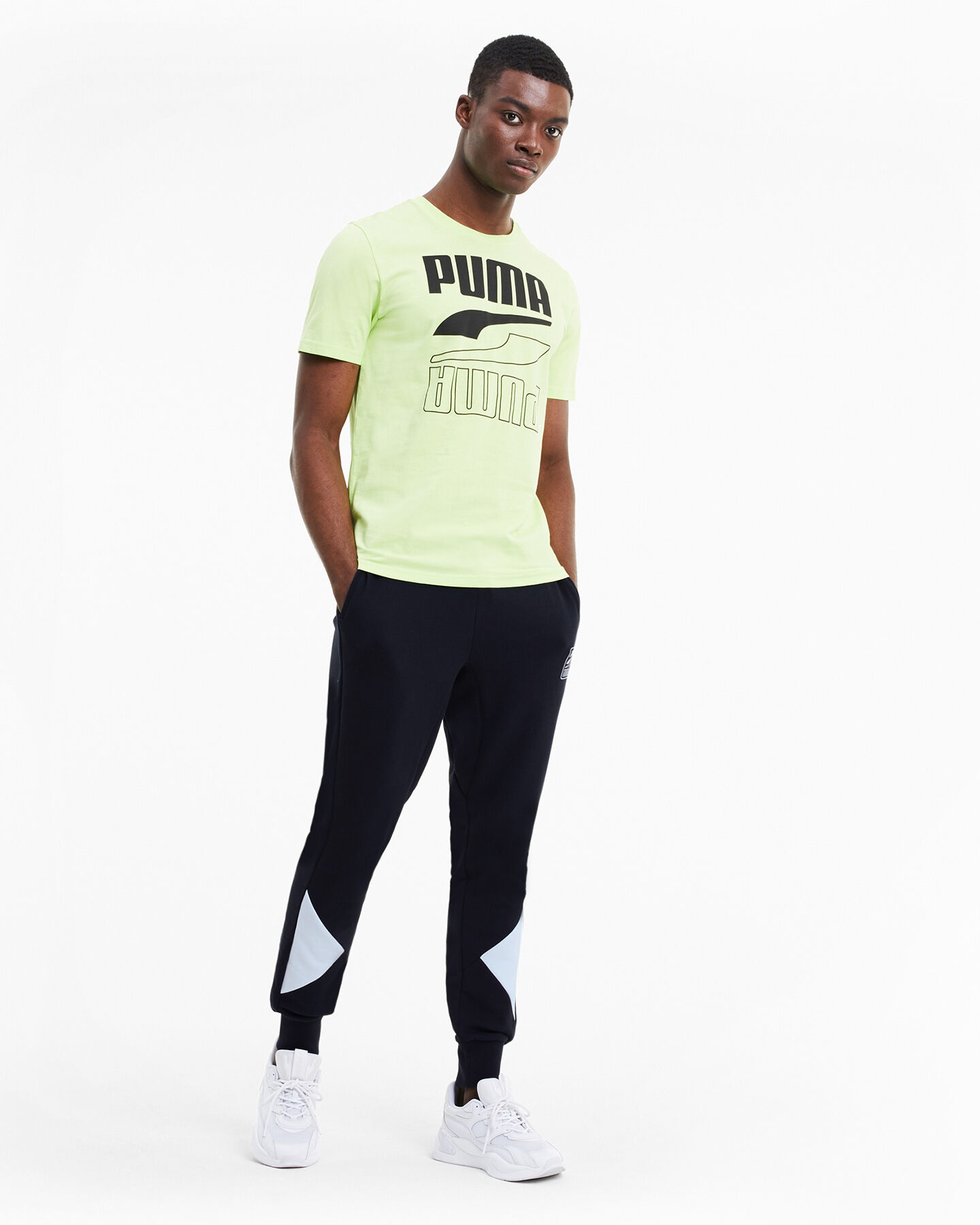 Pantalone PUMA REBEL BLOCK M S5235166 scatto 4