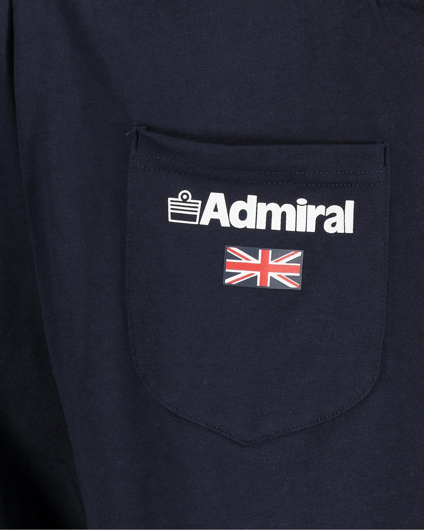 Pantaloncini ADMIRAL JERSEY M S4086999 scatto 3