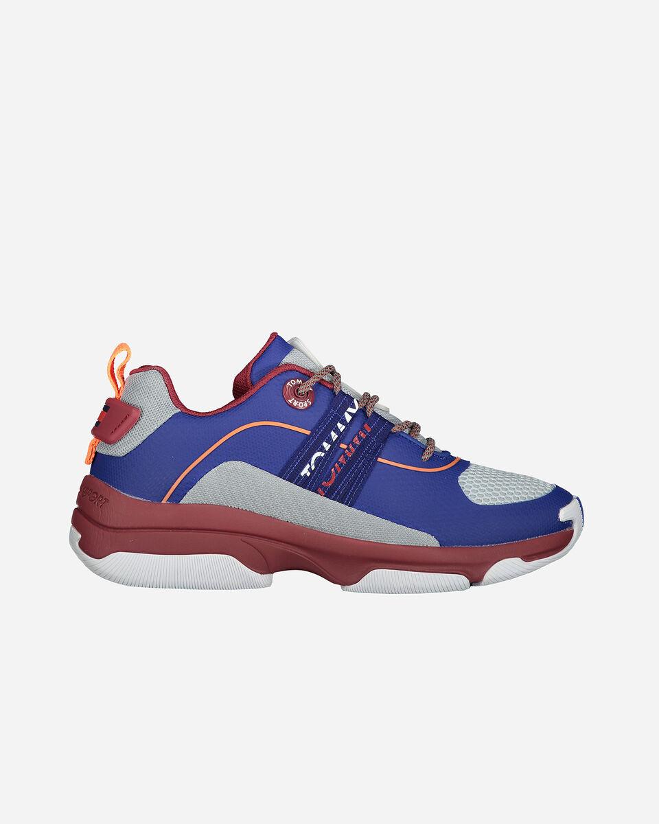 Scarpe sneakers TOMMY HILFIGER CITY CBK M S4071983 scatto 0