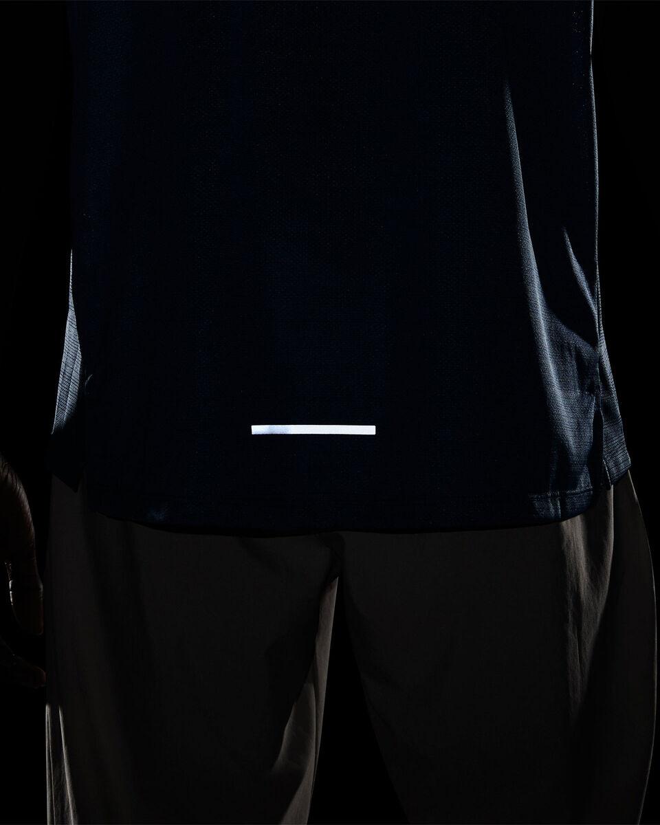 T-Shirt running NIKE DRI-FIT MILER M S5194863 scatto 3