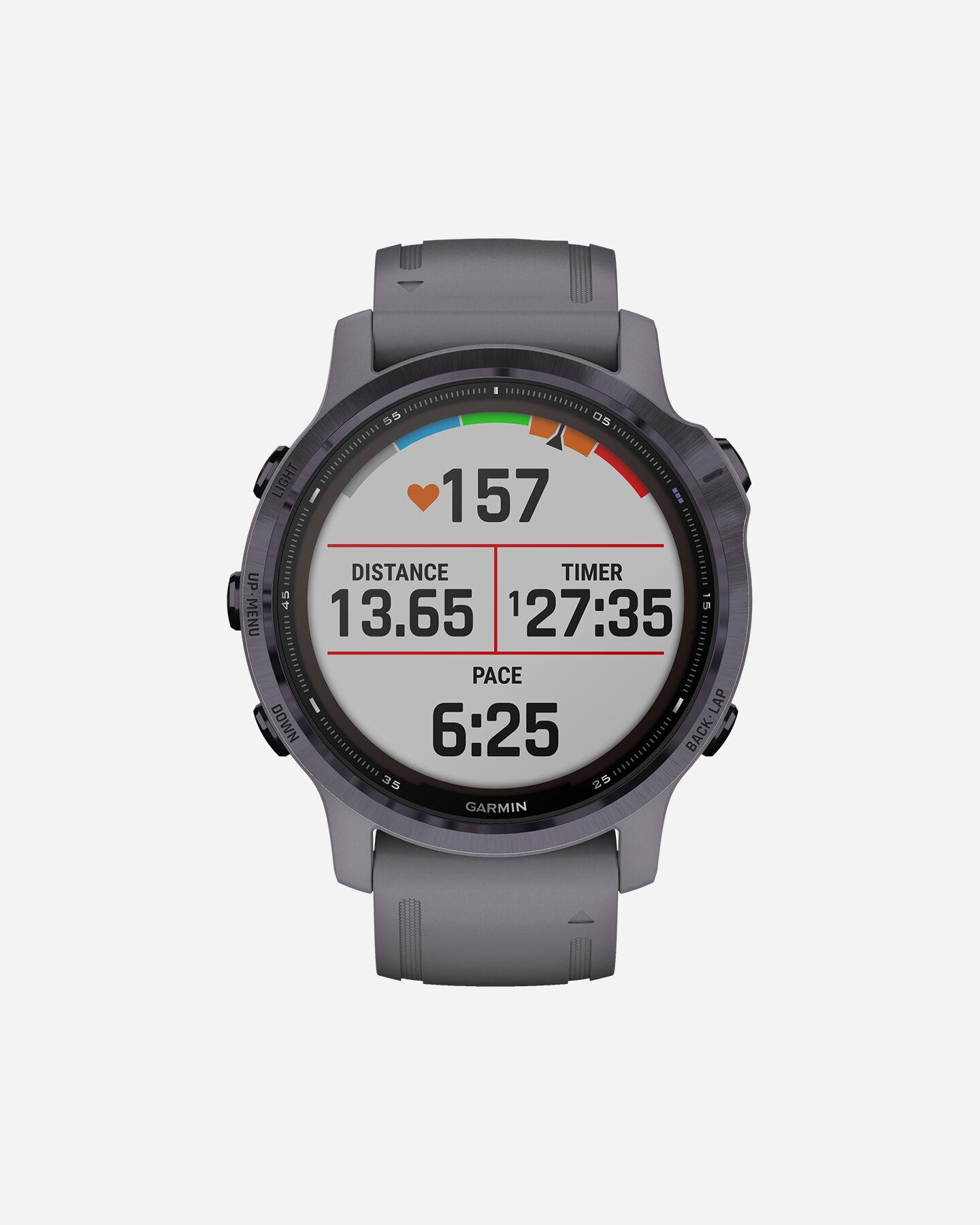 Orologio multifunzione GARMIN FENIX 6S PRO SOLAR S4086017|15|UNI scatto 0
