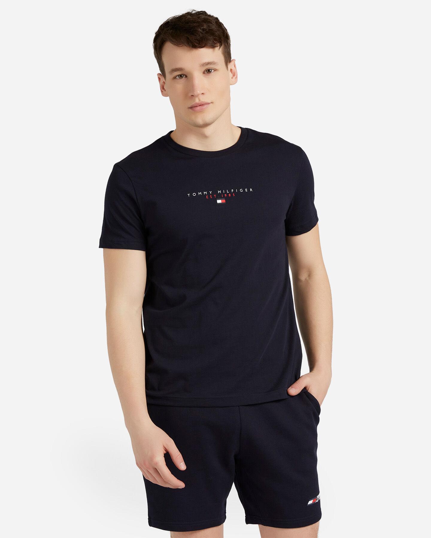 T-Shirt TOMMY HILFIGER ESSENTIAL M S4089510 scatto 0