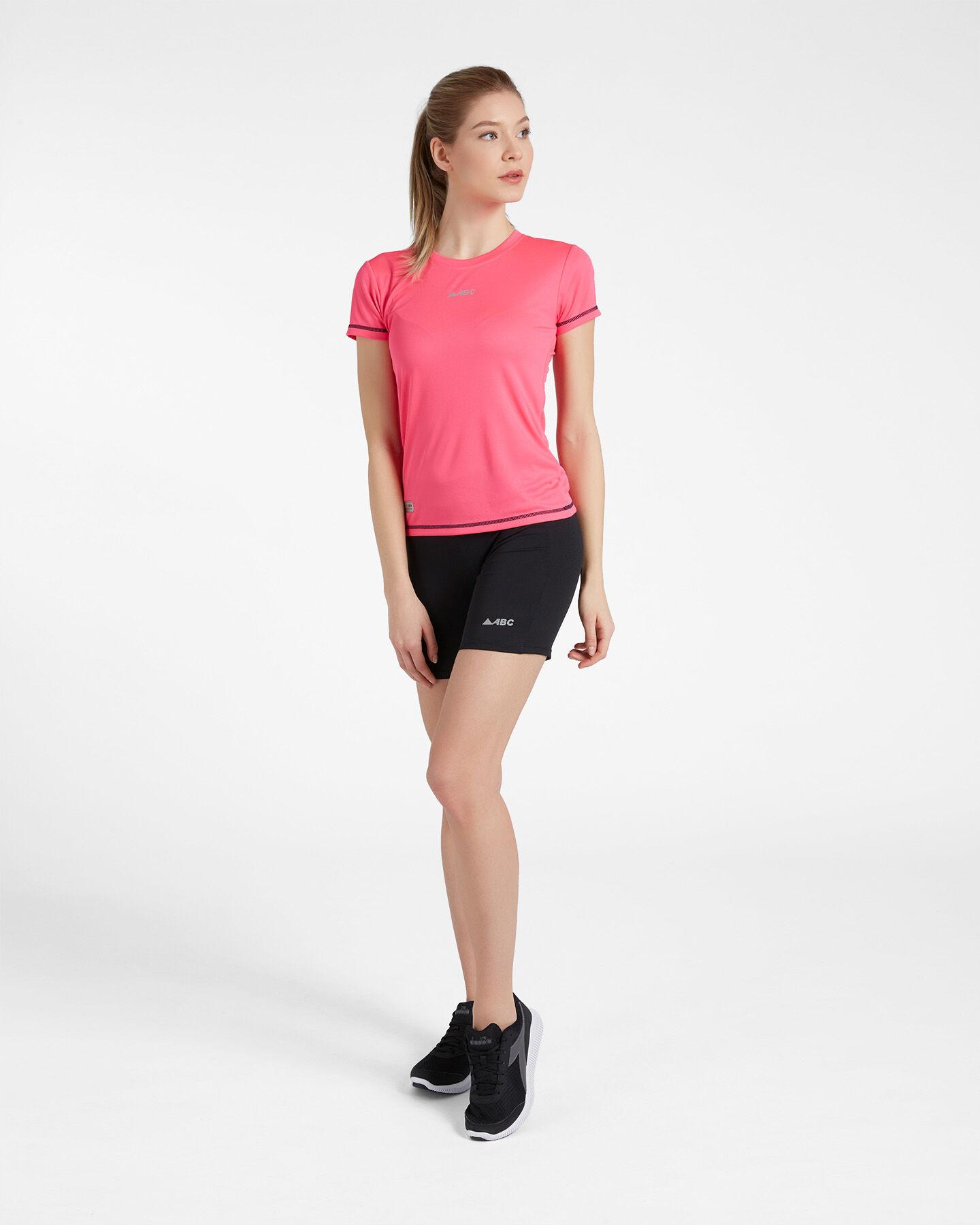 T-Shirt running ABC RUN W S4088091 scatto 1
