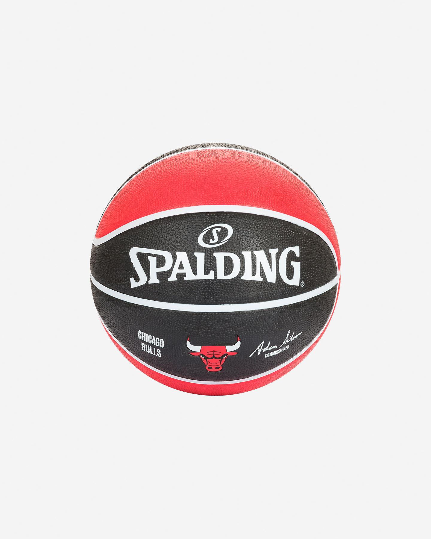 Pallone basket SPALDING BULLS NBA TEAM SZ.7 S2006545 UNI UNI scatto 1