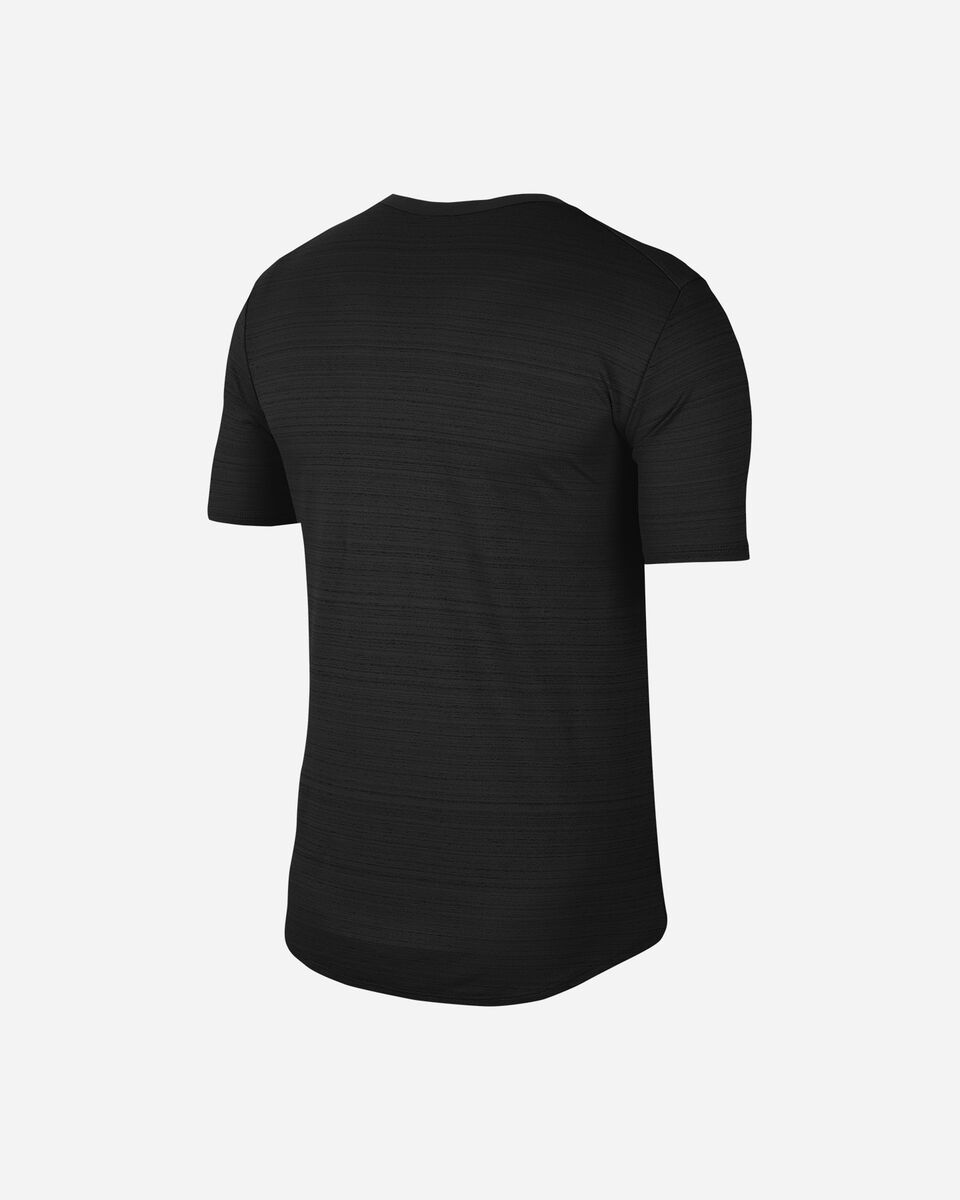 T-Shirt running NIKE DRI-FIT MILER M S5225604 scatto 1