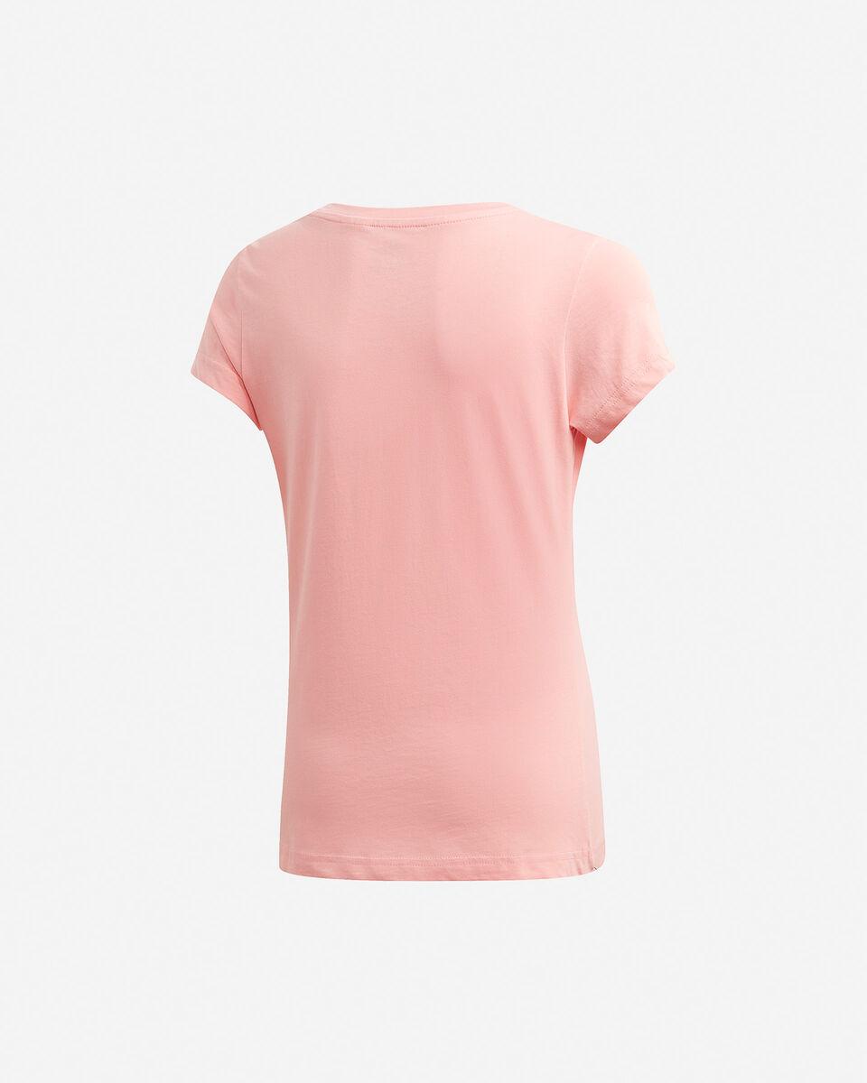 T-Shirt ADIDAS ESSENTIALS LINEAR JR S5211409 scatto 1