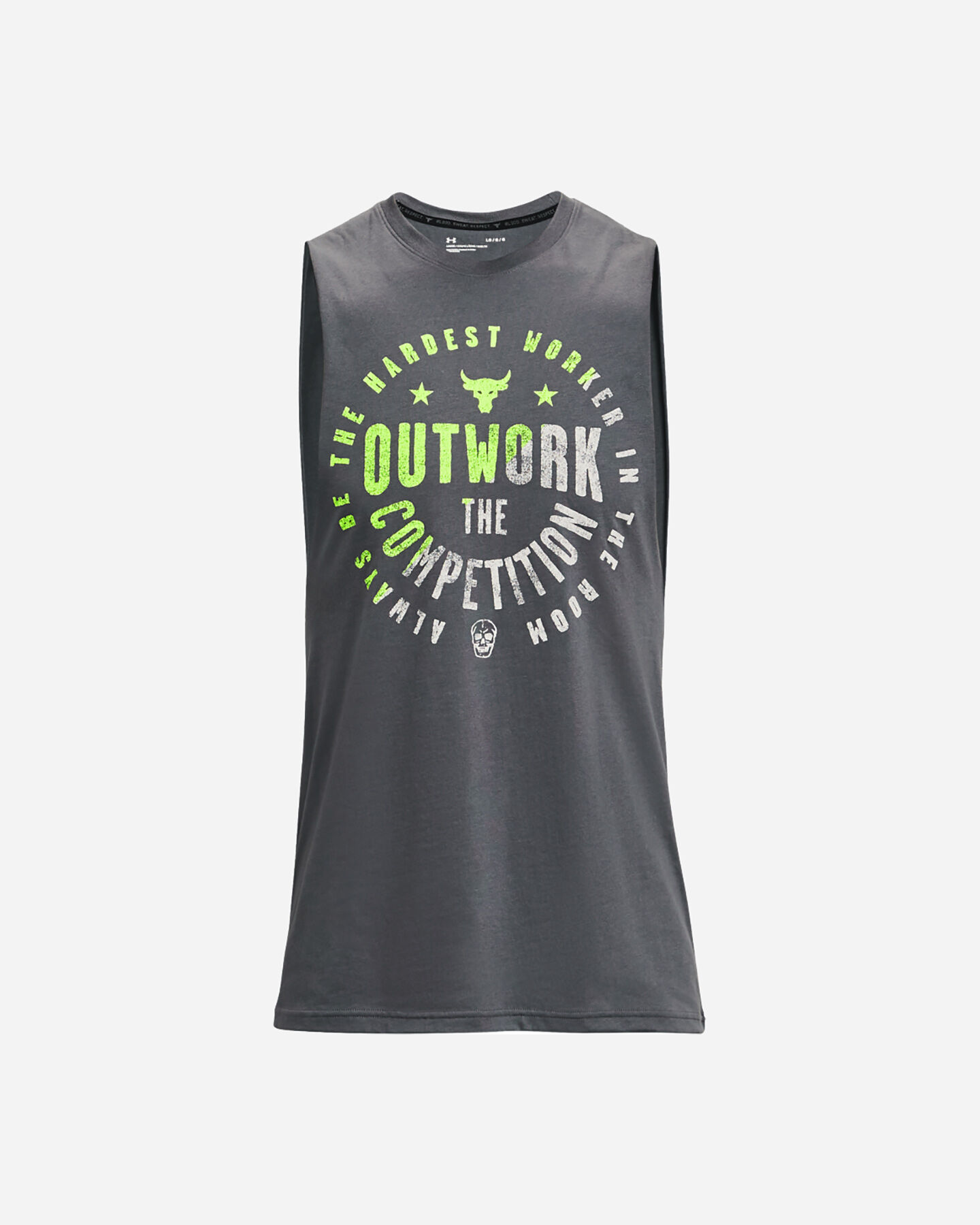 Canotta UNDER ARMOUR THE ROCK LOGO M S5287635 scatto 0