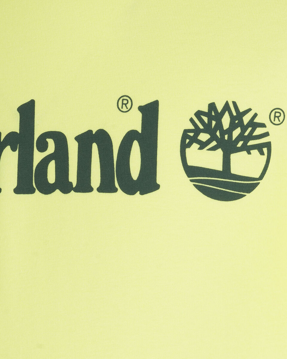T-Shirt TIMBERLAND PLOGO EXTENDED JR S4088890 scatto 2