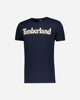 T-Shirt TIMBERLAND KENNEBEC RIVER LINEAR LOGO M