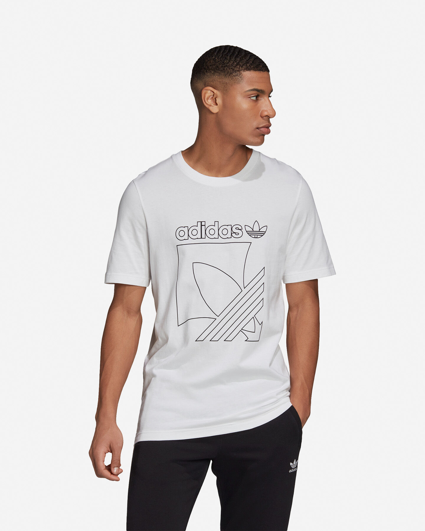 T-Shirt ADIDAS OUTLINE M S5210669 scatto 2
