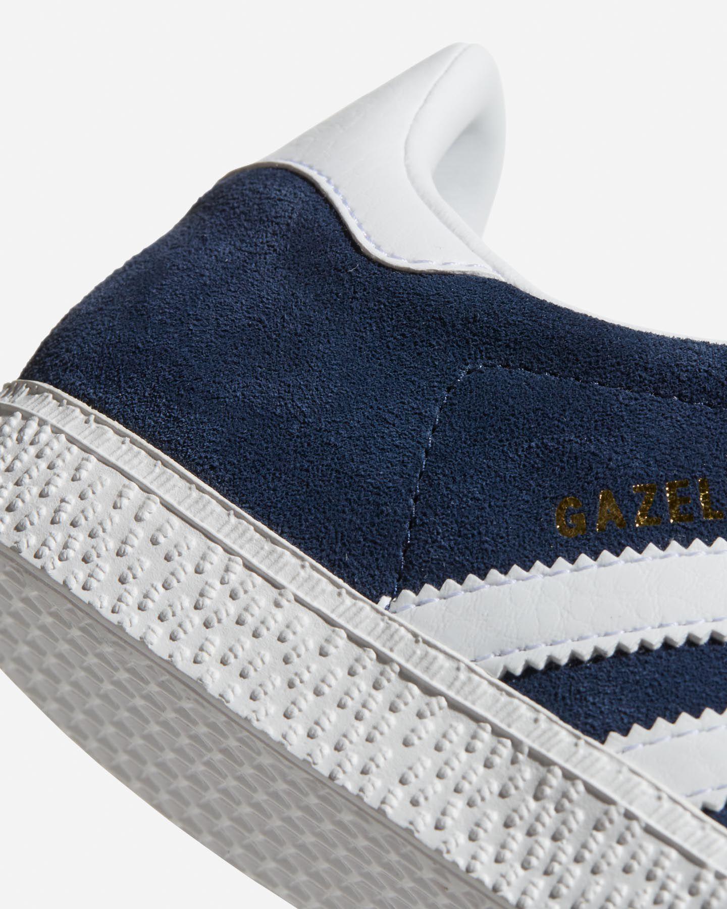 Scarpe sneakers ADIDAS GAZELLE JR GS S4046770|CONAVY/FTW|3 scatto 4