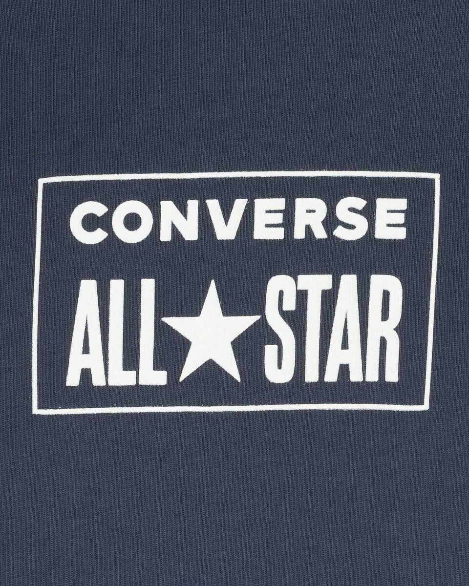 T-Shirt CONVERSE LOGO MINIMAL M S5246608 scatto 2