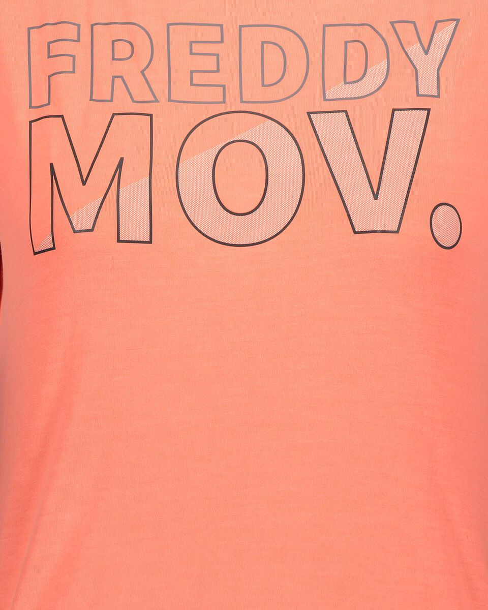 T-Shirt training FREDDY BIG LOGO MOV W S5183530 scatto 2