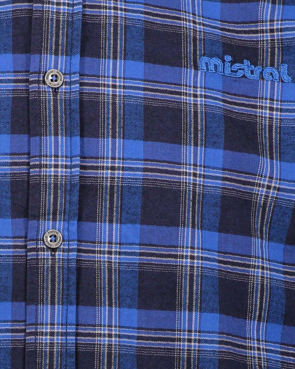 Camicia MISTRAL CHECK M S4080234 scatto 2