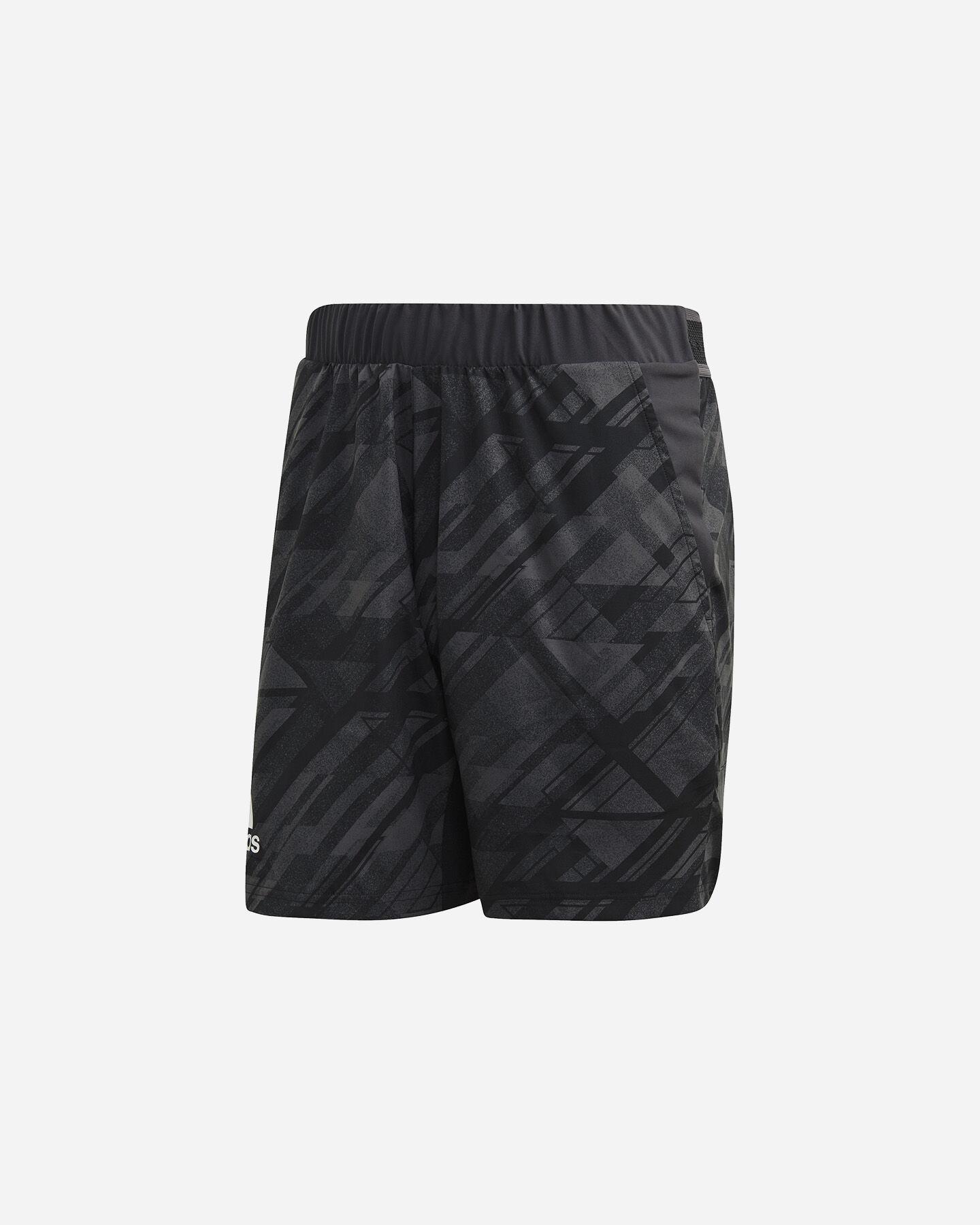 Pantaloncini tennis ADIDAS ERGO PRINTED AEROREADY M S5212238 scatto 0