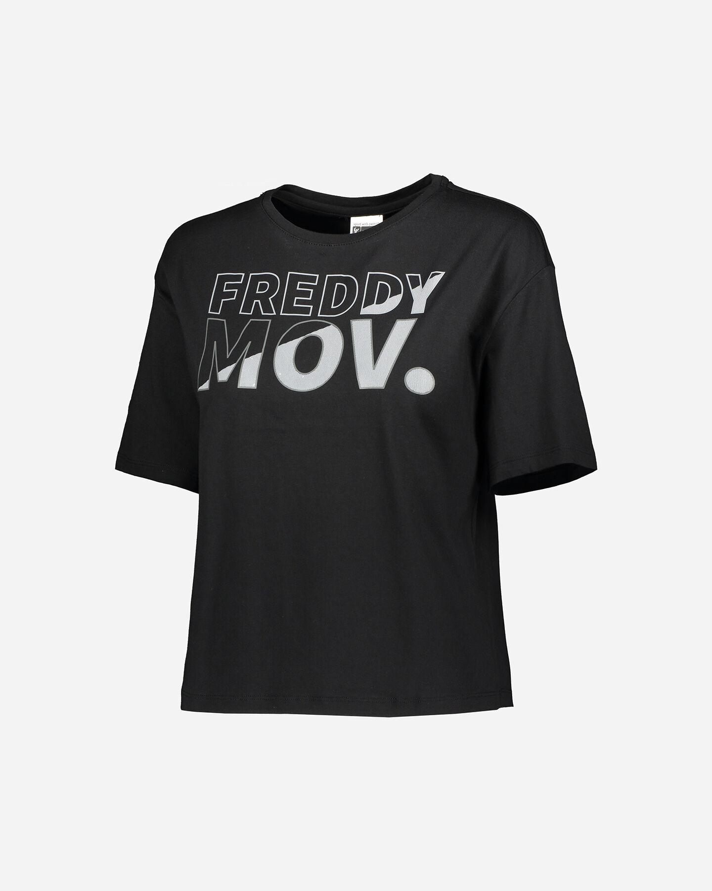 T-Shirt training FREDDY BIG LOGO MOV W S5183526 scatto 0