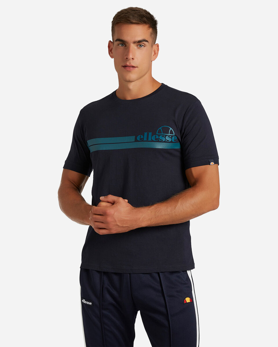 T-Shirt ELLESSE MC STRIPES M S4081222 scatto 0