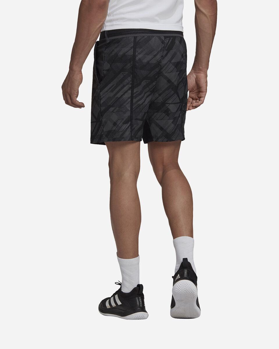 Pantaloncini tennis ADIDAS ERGO PRINTED AEROREADY M S5212238 scatto 4
