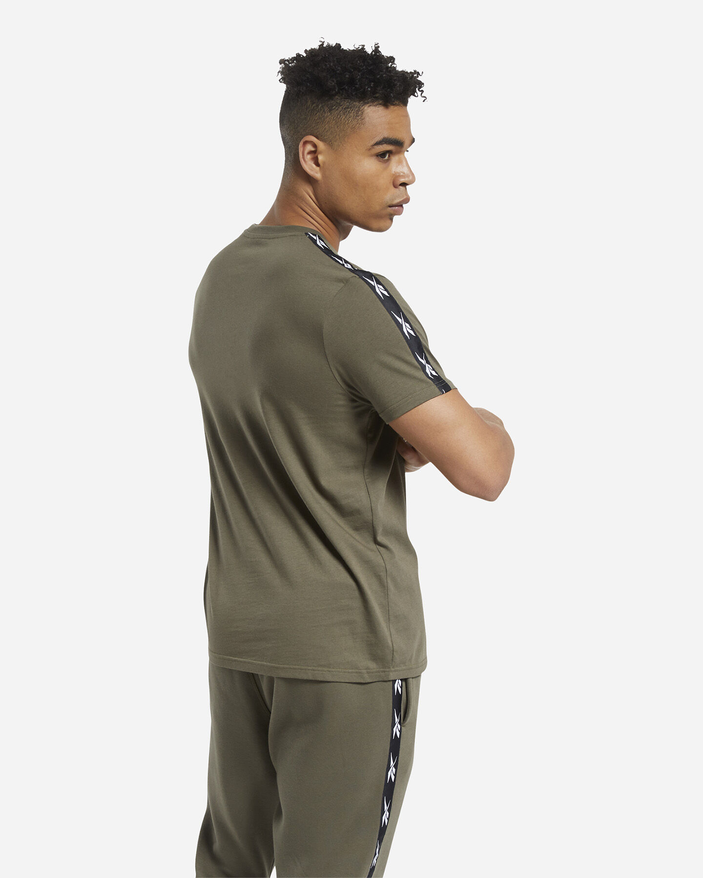 T-Shirt REEBOK TAPE M S5258669 scatto 2