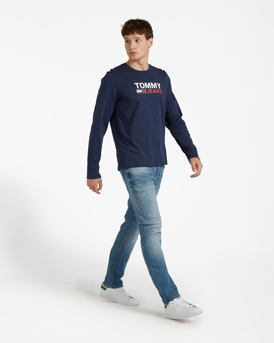 T-Shirt TOMMY HILFIGER LOGO M S4083707 scatto 3
