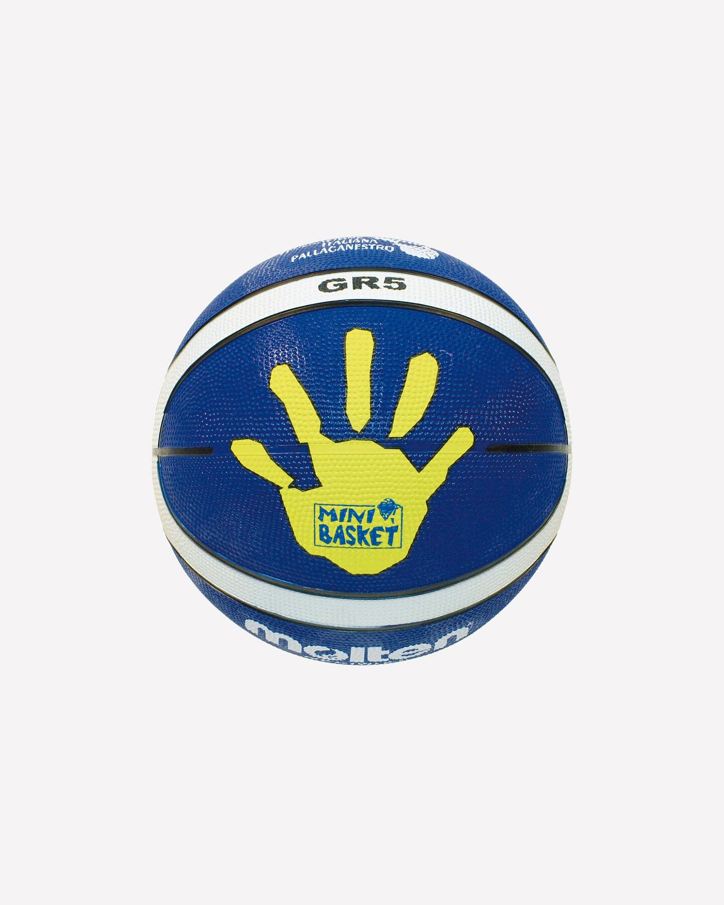 Pallone basket MOLTEN GR5 MIS.5 S0695416|1|UNI scatto 1