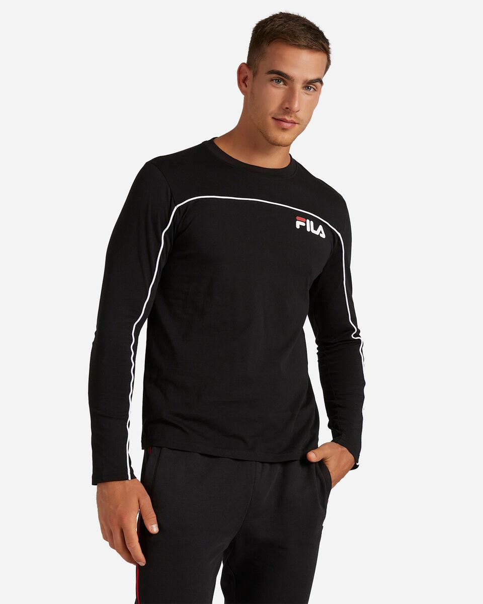 T-Shirt FILA LOGO M S4080475 scatto 0