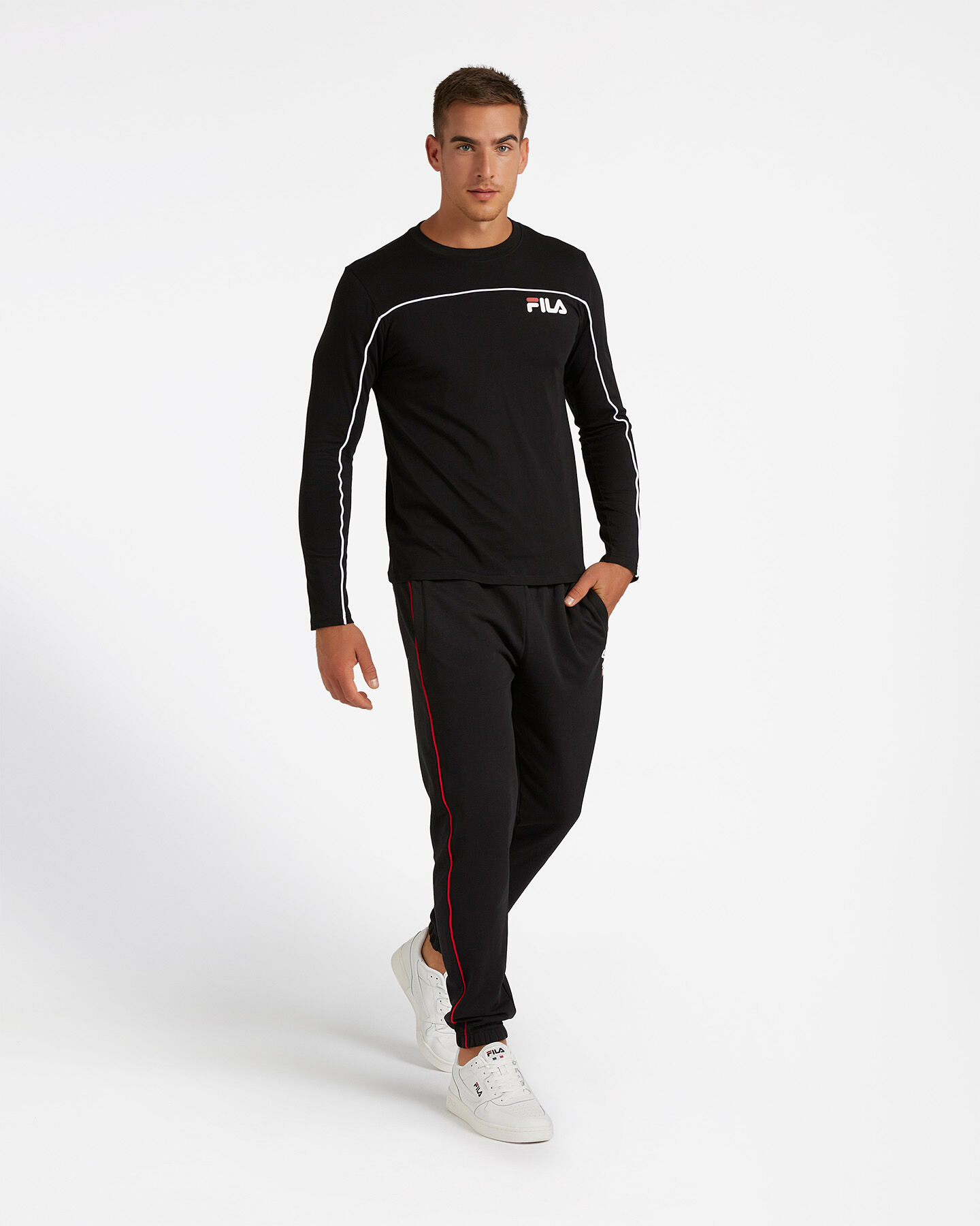 T-Shirt FILA LOGO M S4080475 scatto 3