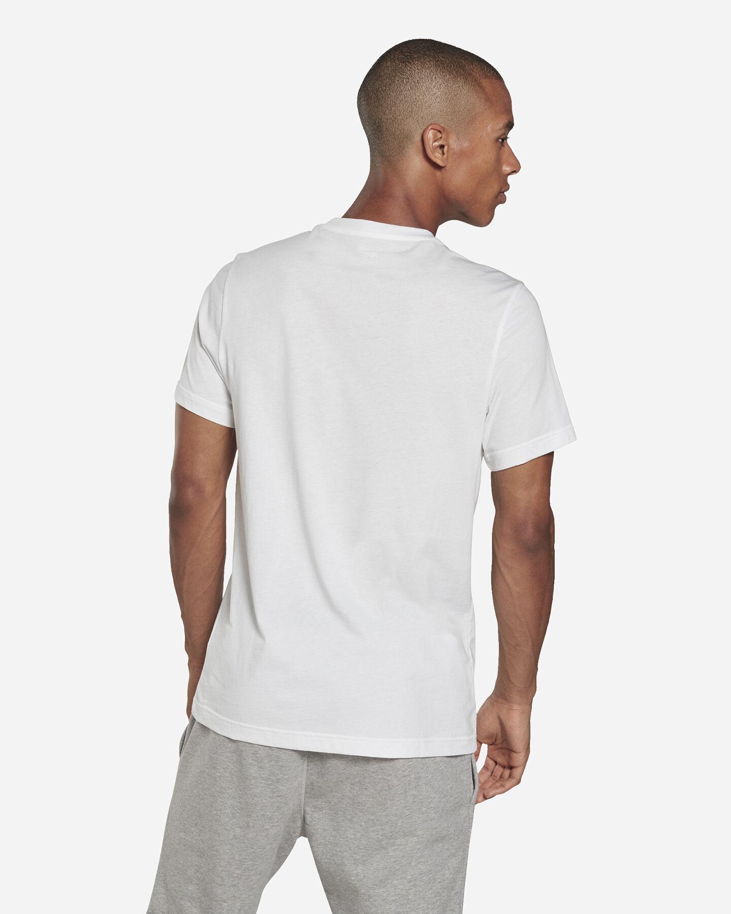 T-Shirt REEBOK CLASSIC LOGO M S5280183 scatto 3