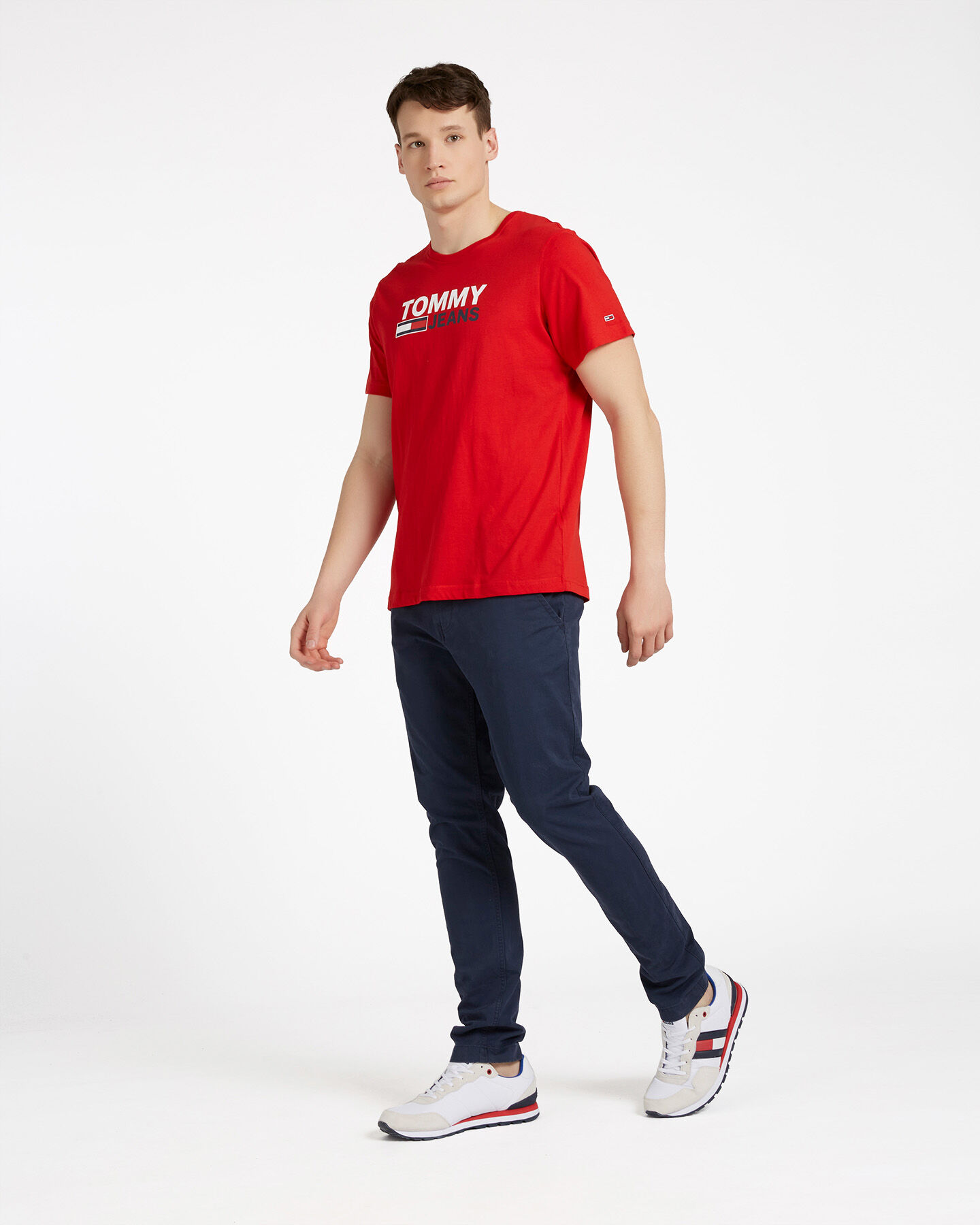 T-Shirt TOMMY HILFIGER CORP LOGO M S4088732 scatto 3