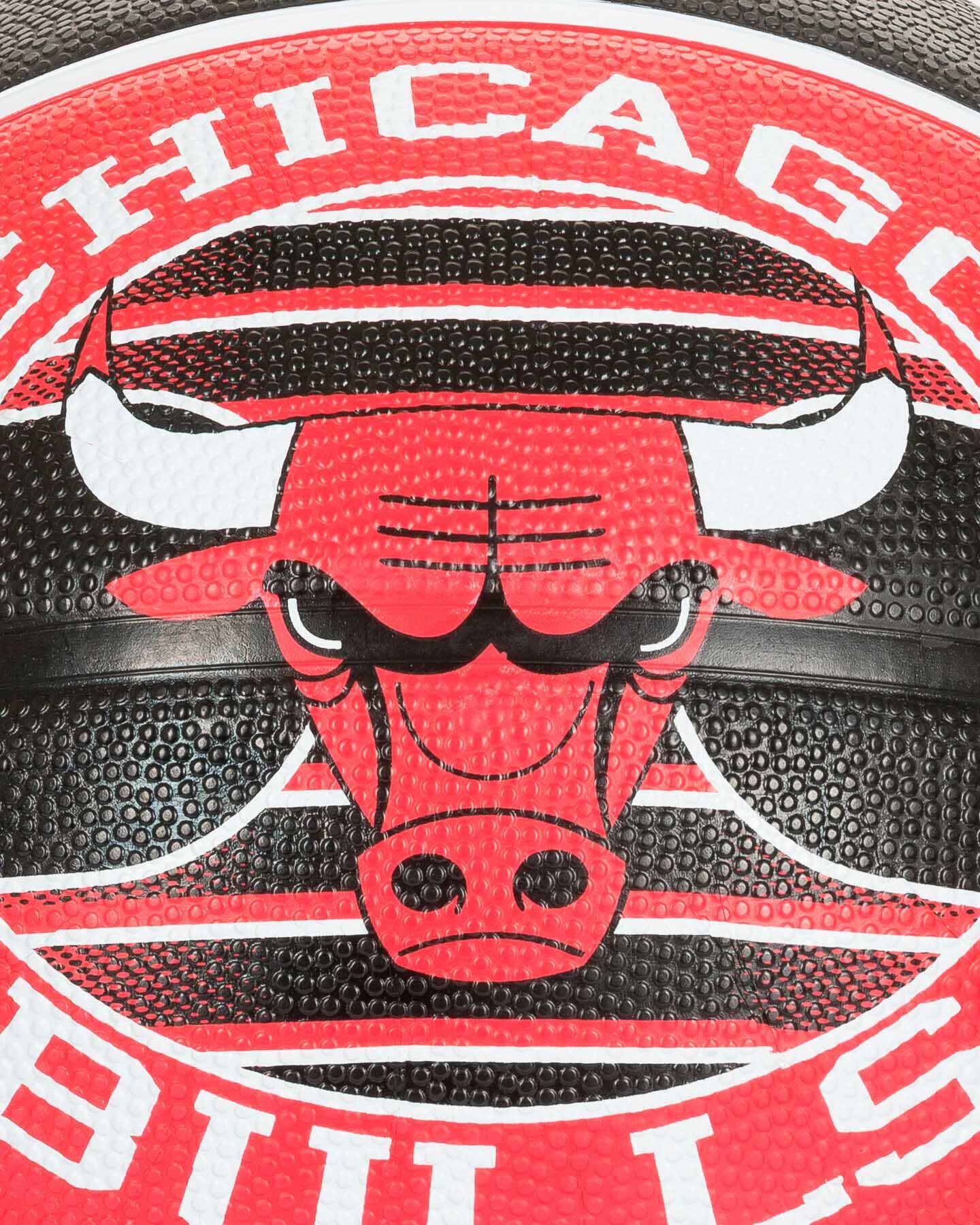 Pallone basket SPALDING BULLS NBA TEAM SZ.7 S2006545 UNI UNI scatto 2