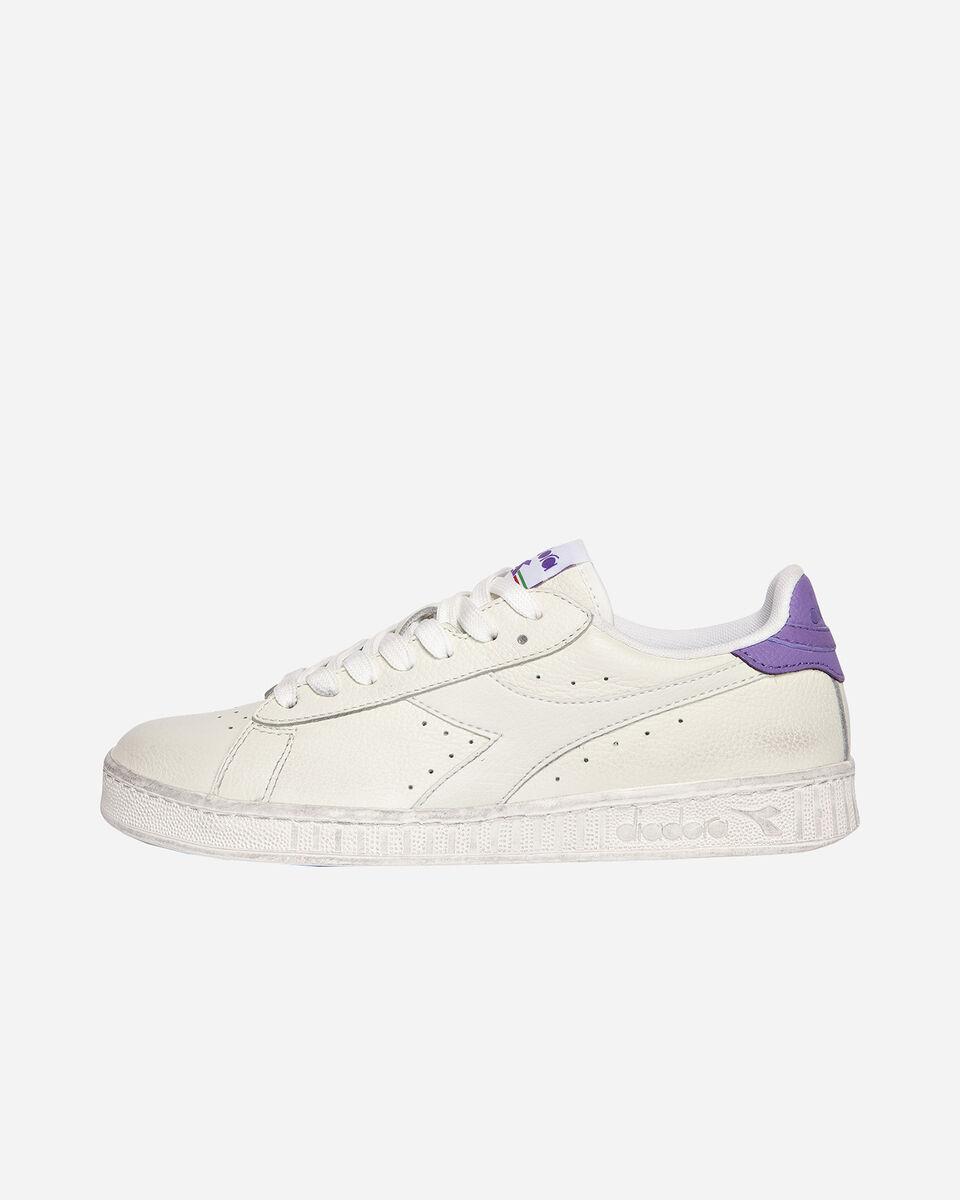 Scarpe sneakers DIADORA GAME L LOW WAXED W S5171105 scatto 5