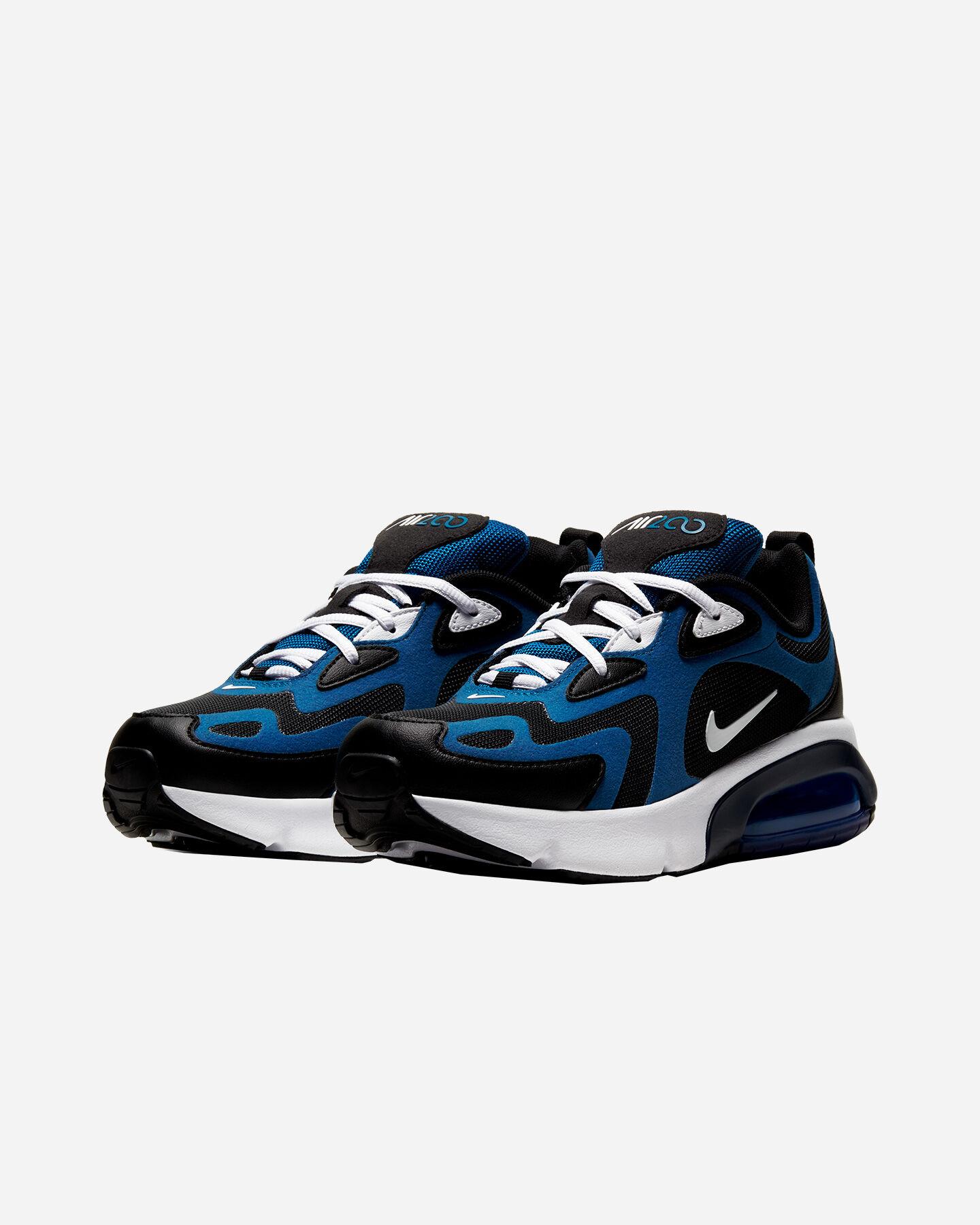 Scarpe sneakers NIKE AIR MAX 200 GS JR S5161546 scatto 1