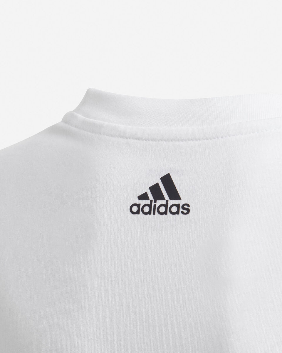 T-Shirt ADIDAS YOUNG BADGE OF SPORT JR S5211338 scatto 4