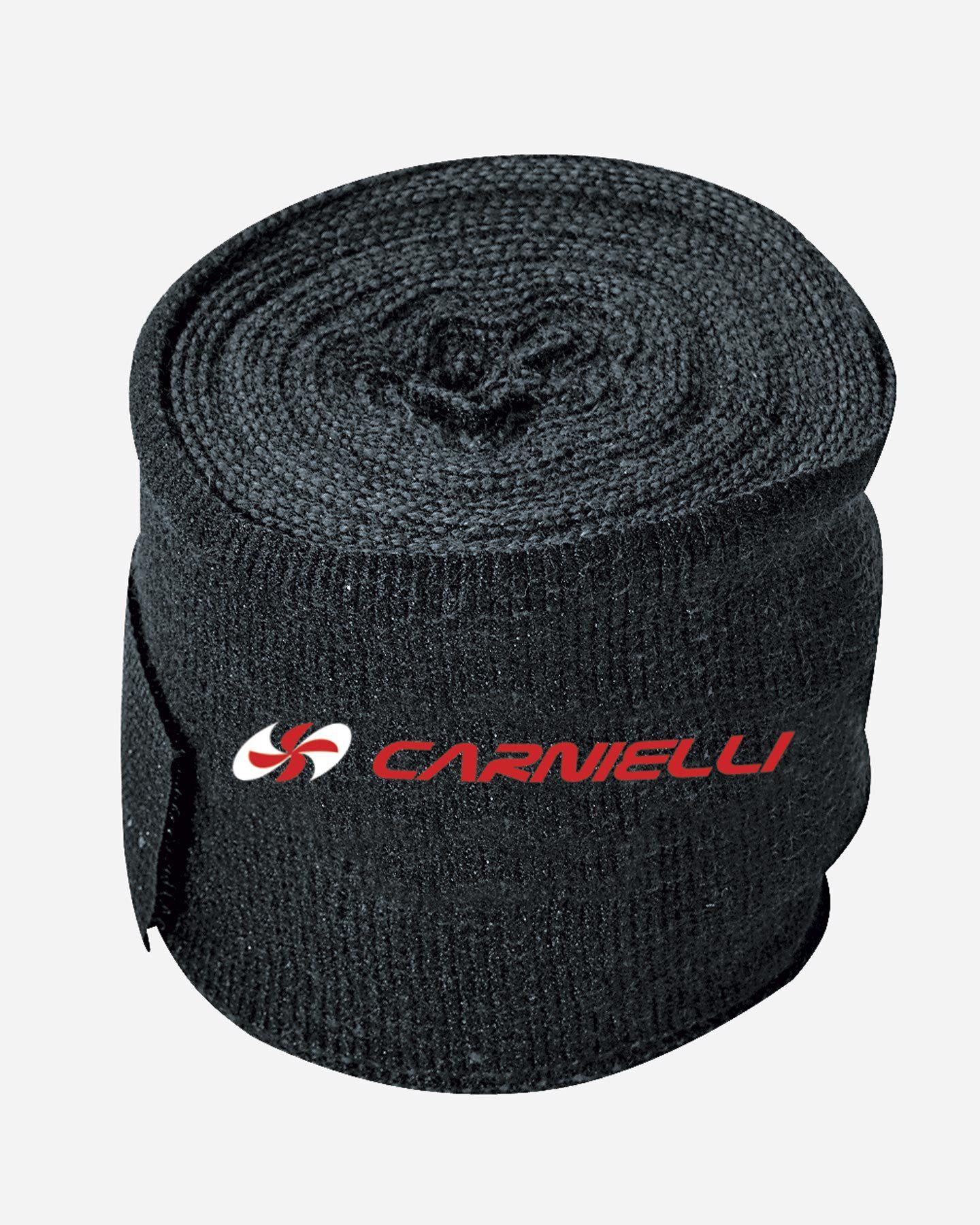 Accessorio boxe CARNIELLI FASCE BOXE S4036630 NERO UNI scatto 1