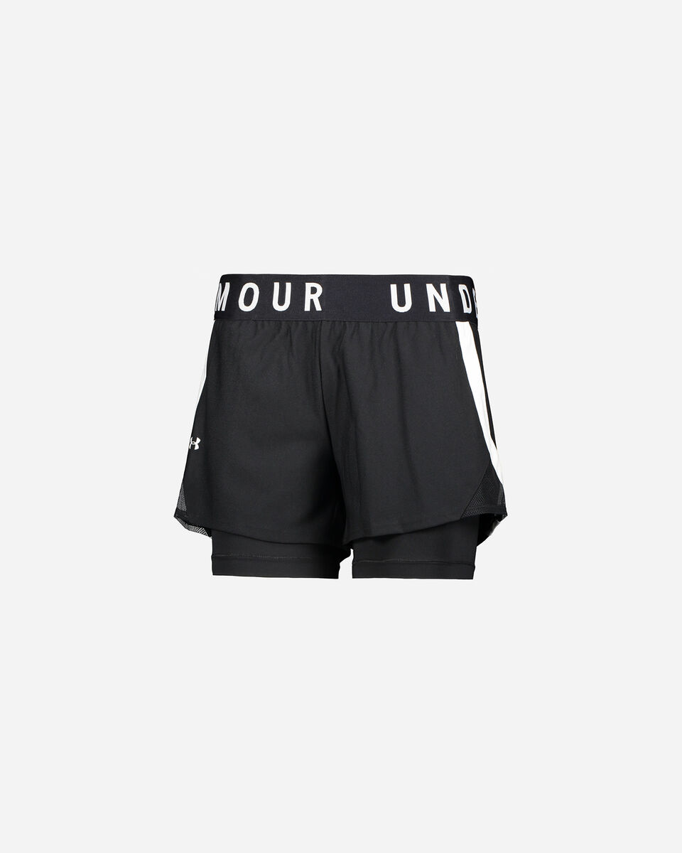 Short training UNDER ARMOUR PLAY UP 2-IN-1 W S5169280 scatto 0