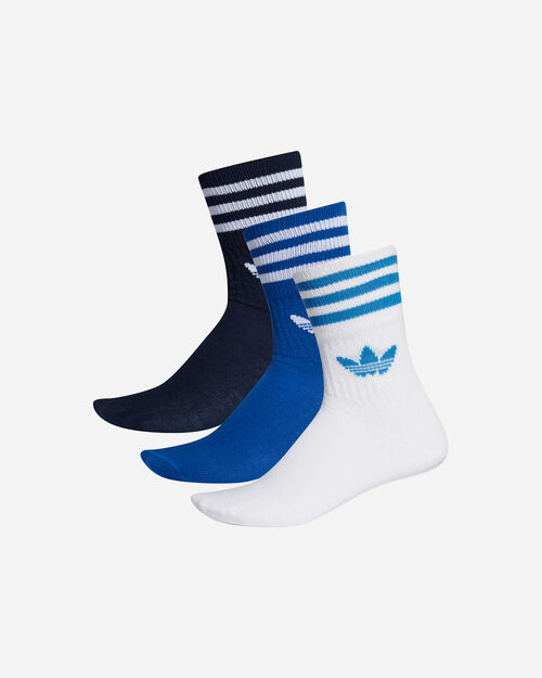 Calze ADIDAS MID-CUT SOLID CREW 3 M