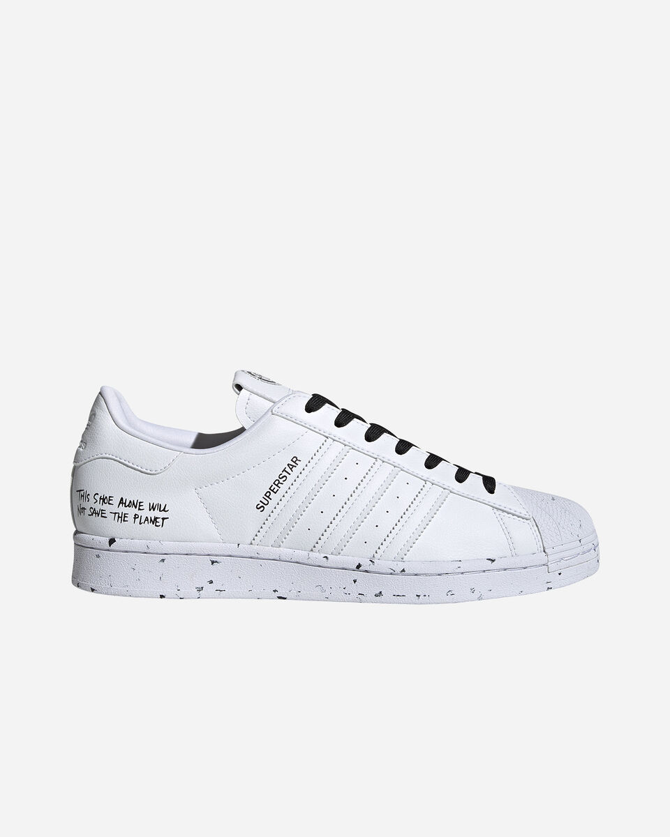 Scarpe sneakers ADIDAS SUPERSTAR VEGAN M S5209270 scatto 0