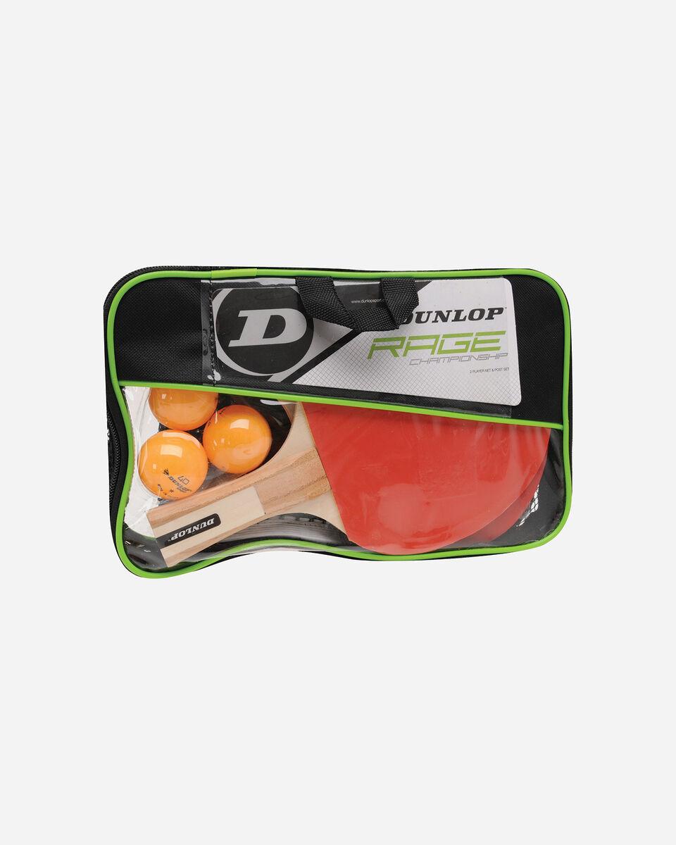 Accessorio ping pong DUNLOP SET RAGE CHAMPIONSHIP S2006321|UNI|UNI scatto 0