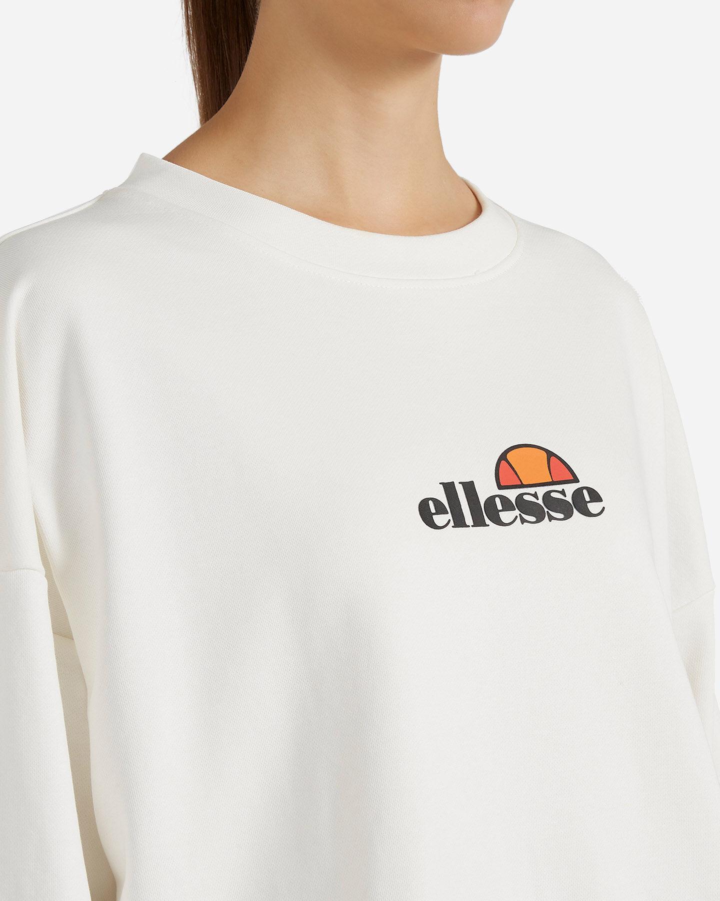 Felpa ELLESSE CROP W S4081240 scatto 4
