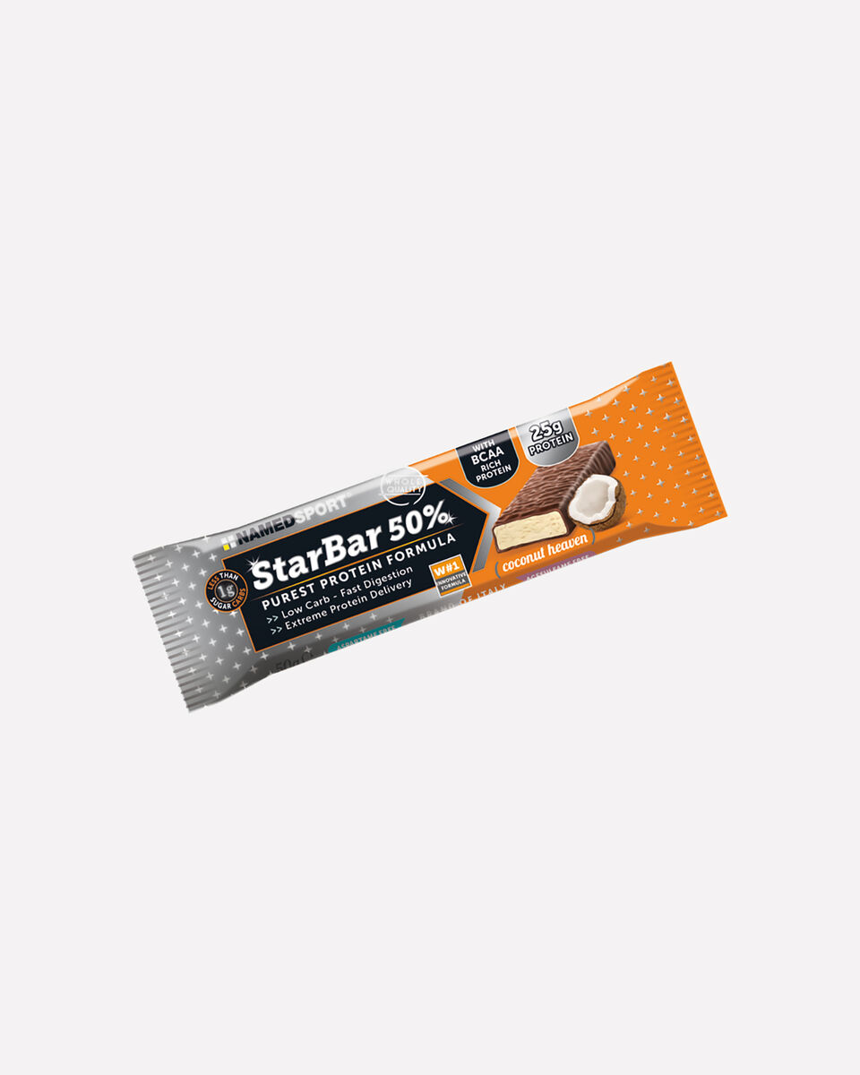 Energetico NAMED SPORT STARBAR 50% PROTEIN COCONUT S1328358 1 UNI scatto 0