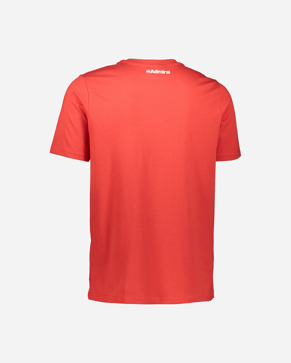 T-Shirt ADMIRAL LOGO M S4086983 scatto 1