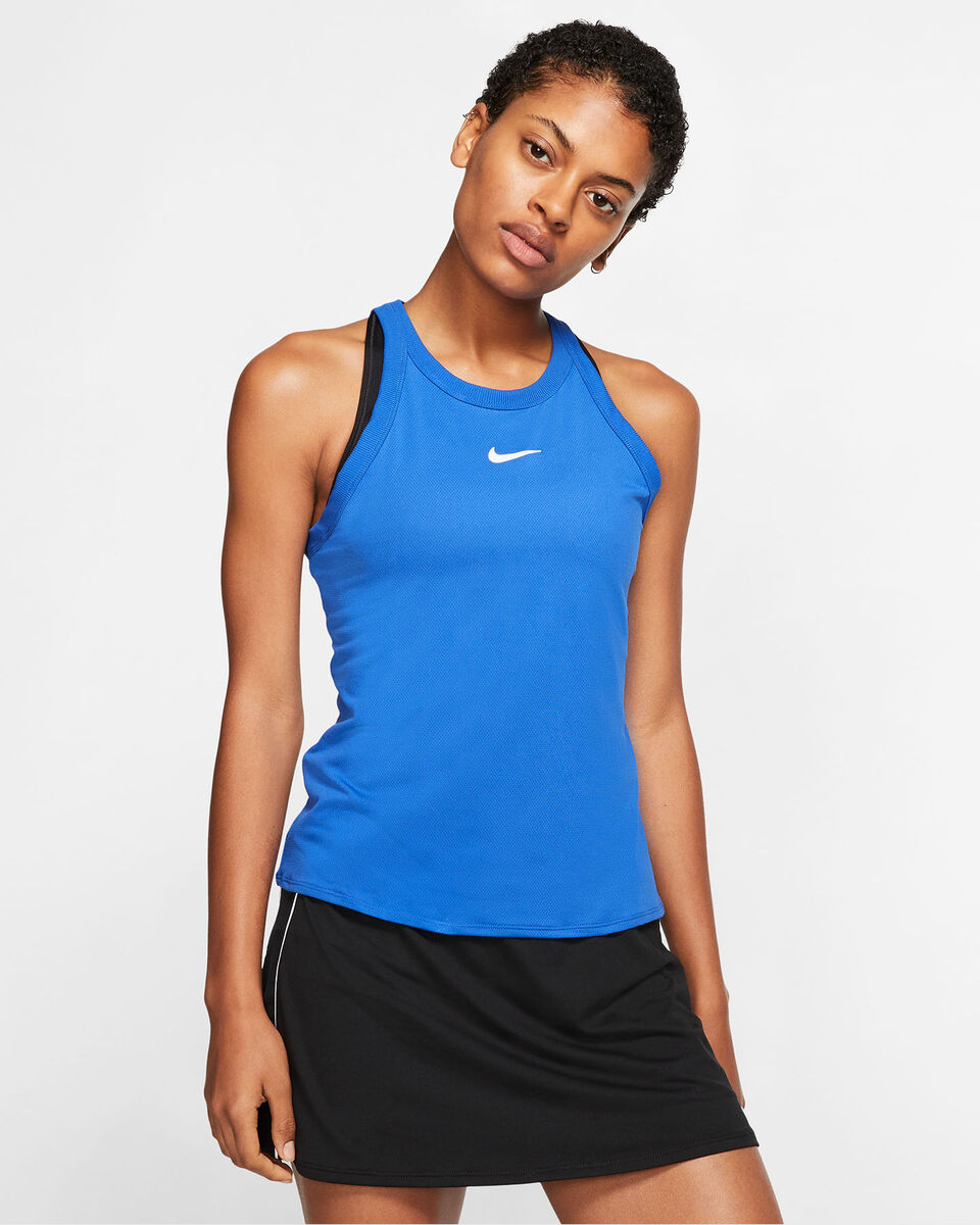 T-Shirt tennis NIKE COURT DRI-FIT W S5138105 scatto 2