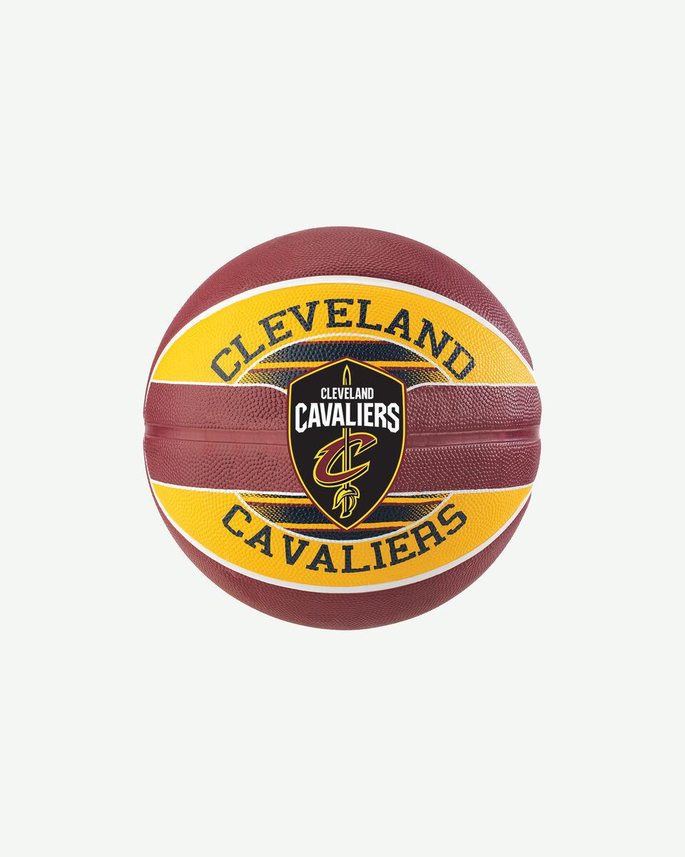 Pallone basket SPALDING CLEVELAND CAVALIERS S2006546|UNI|UNI scatto 0