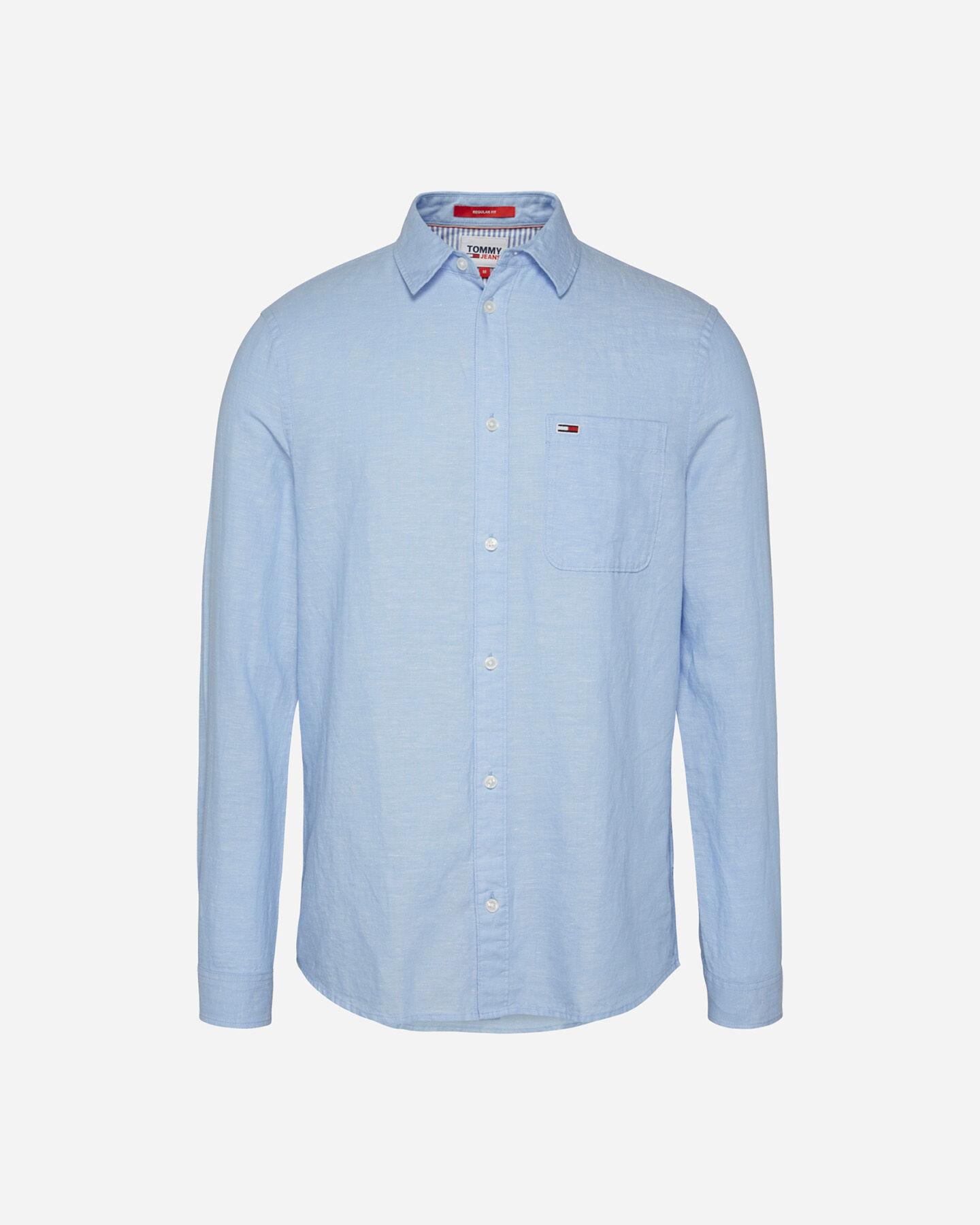 Camicia TOMMY HILFIGER LINEN M S4088738 scatto 0