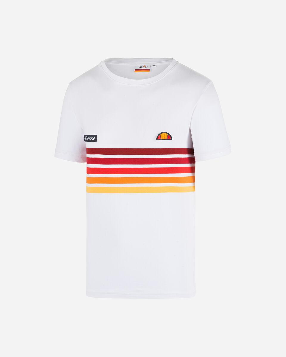 T-Shirt ELLESSE RAINBOW STRIPES M S4073850 scatto 5